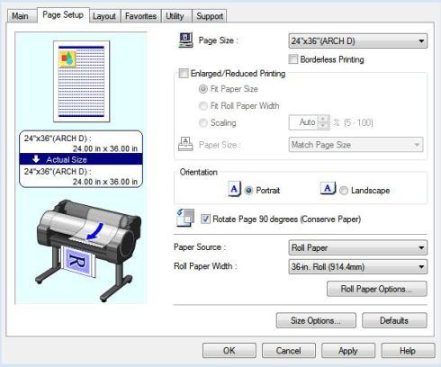 Canon iPF Conserve Paper